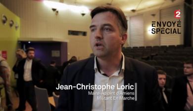 Jean-Christophe LORIC à Envoyé Spécial